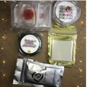 Other - Lot of Silicone Makeup Spongees/Eyelashes/Tattoos